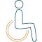 Icono Adaptado a discapacitados